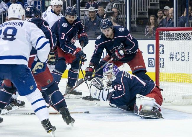 NHL | Toronto Maple Leafs (25-10-2) at Columbus Blue Jackets (22-12-3)