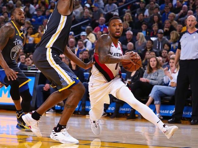 NBA | Portland Trail Blazers (19-15) at Golden State Warriors (23-12)