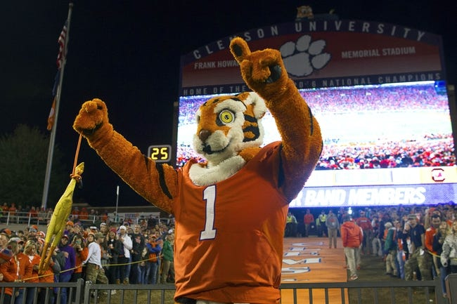 CFB | Clemson Tigers (12-0) at Pittsburgh Panthers (7-5)