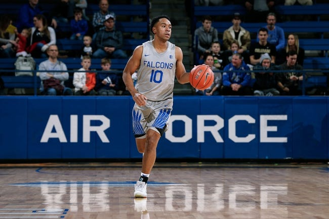 NCAA BB | Denver Pioneers (2-6) at Air Force Falcons (3-5)
