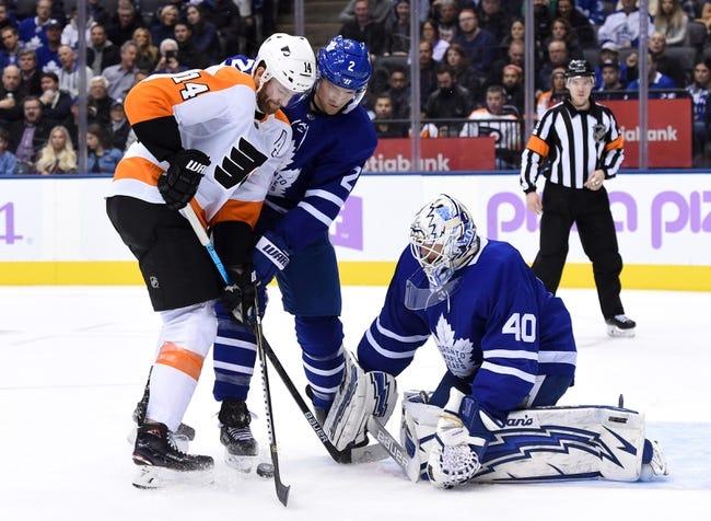 NHL   Philadelphia Flyers at Toronto Maple Leafs