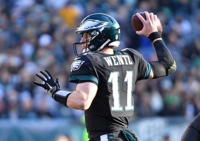 Washington Redskins at Philadelphia Eagles - 12/3/18 NFL Pick, Odds, and Prediction
