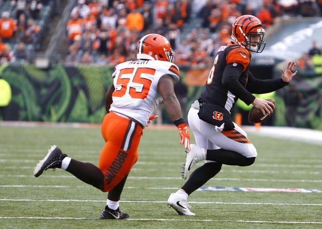 NFL   Cincinnati Bengals (6-8) at Cleveland Browns (6-7-1)