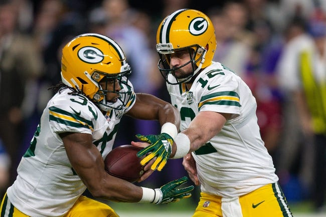 Green Bay Packers vs. Arizona Cardinals - 12/2/18 NFL Pick, Odds, and Prediction
