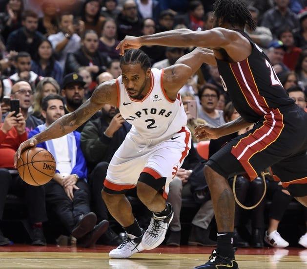NBA | Toronto Raptors (25-10) at Miami Heat (16-16)