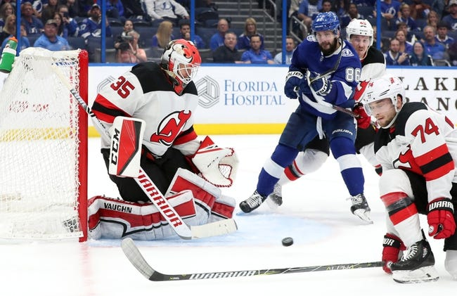 NHL | Tampa Bay Lightning (19-7-1) at New Jersey Devils (9-11-5)