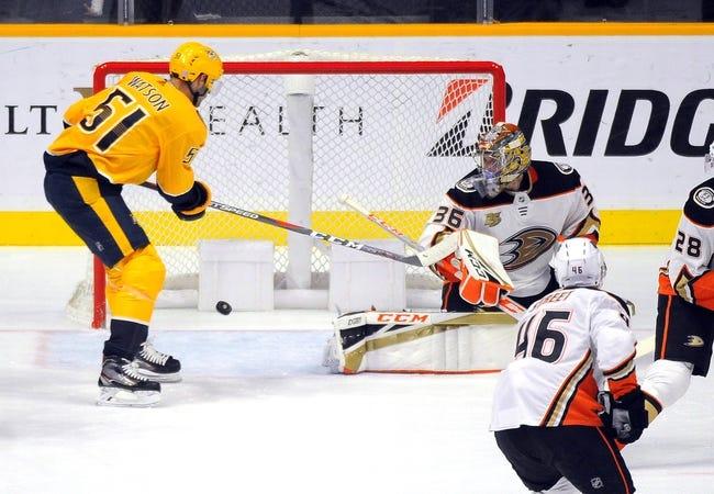 NHL | Nashville Predators at Anaheim Ducks