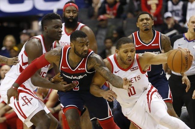 NBA   Washington Wizards (12-19) at Houston Rockets (15-14)
