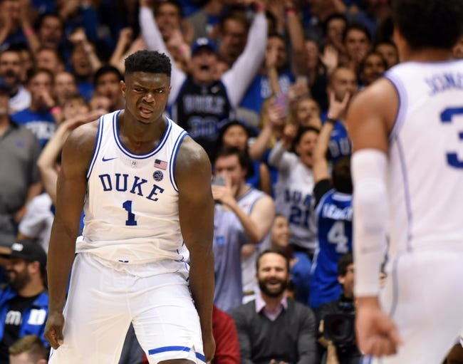 Duke vs. Stetson - 12/1/18 College Basketball Pick, Odds, and Prediction