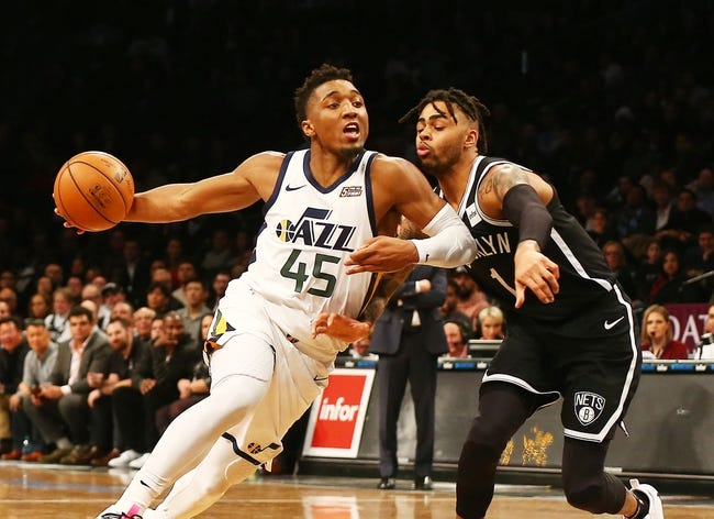 NBA   Brooklyn Nets at Utah Jazz