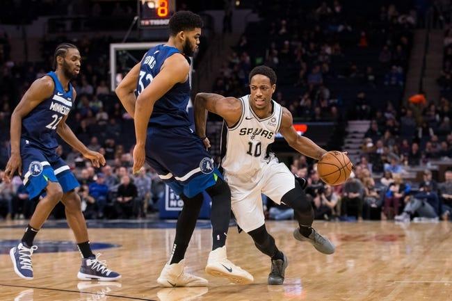 NBA | Minnesota Timberwolves (14-17) at San Antonio Spurs (17-15)