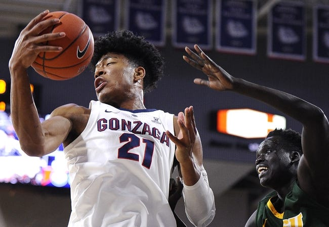 NCAA BB | Washington Huskies (6-2) at Gonzaga Bulldogs (8-0)