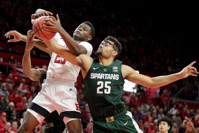 NCAA BB | Rutgers at Michigan State