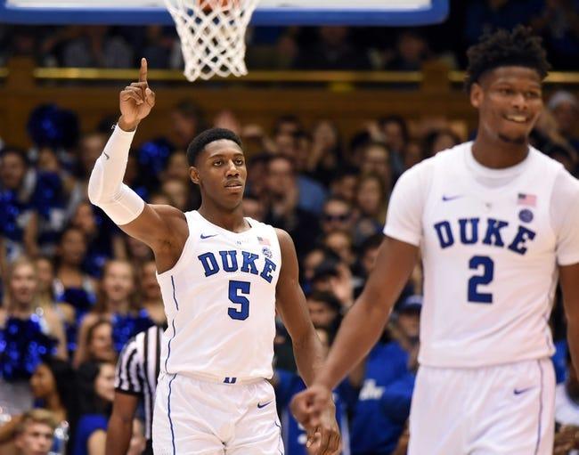 Duke vs. Hartford - 12/5/18 College Basketball Pick, Odds, and Prediction