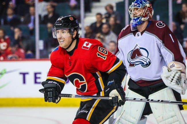 NHL   Colorado Avalanche at Calgary Flames