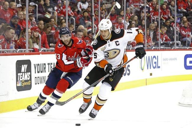 NHL | Washington Capitals at Anaheim Ducks