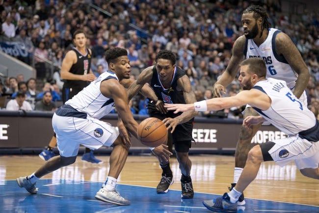 NBA   Dallas Mavericks (15-14) at Los Angeles Clippers (17-13)