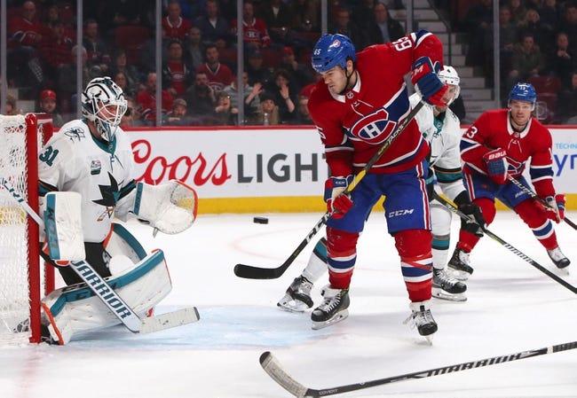 NHL | Montreal Canadiens at San Jose Sharks