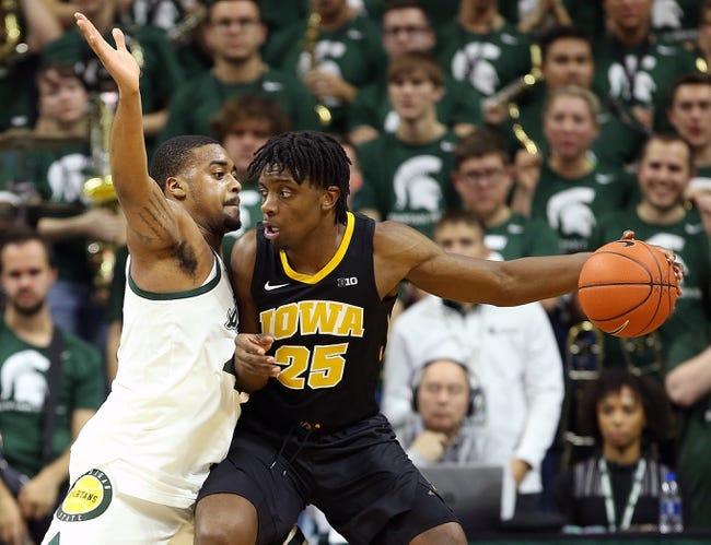 NCAA BB | Michigan State at Iowa