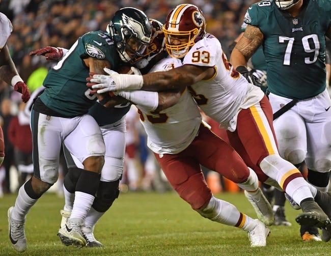 NFL | Philadelphia Eagles (8-7) at Washington Redskins (7-8)