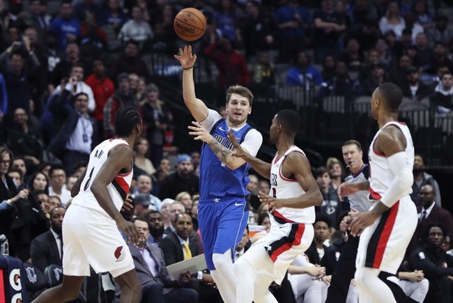 NBA | Dallas Mavericks (15-16) at Portland Trail Blazers (18-14)
