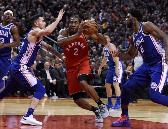 NBA   Toronto Raptors (25-9) at Philadelphia 76ers (21-12)