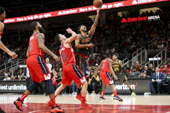 NBA   Washington Wizards (12-18) at Atlanta Hawks (6-23)