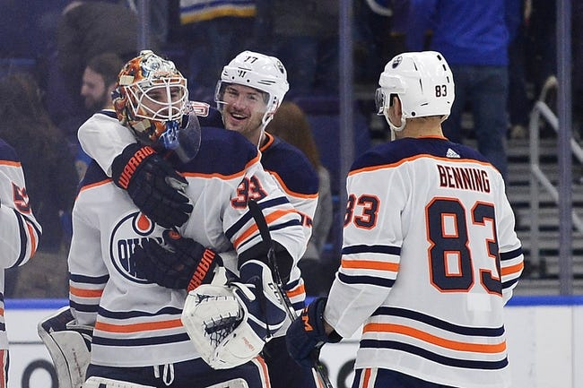 NHL | St. Louis Blues (12-15-4) at Edmonton Oilers (18-13-3)