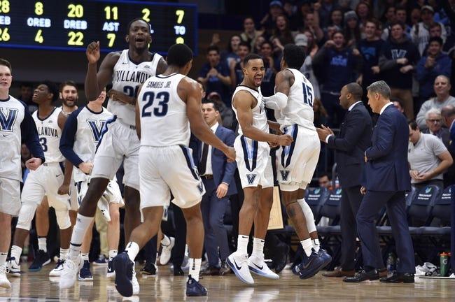 NCAA BB | Connecticut Huskies (9-3) at Villanova Wildcats (8-4)