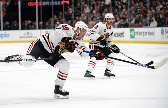 NHL   Chicago Blackhawks at Anaheim Ducks