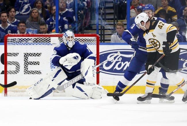 NHL   Tampa Bay Lightning at Boston Bruins