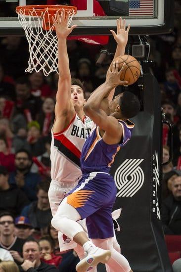 NBA   Portland Trail Blazers at Phoenix Suns