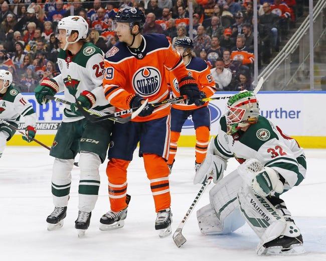NHL | Edmonton Oilers at Minnesota Wild