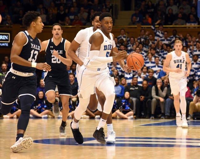 NCAA BB | Yale Bulldogs (5-3) at Monmouth Hawks (0-11)