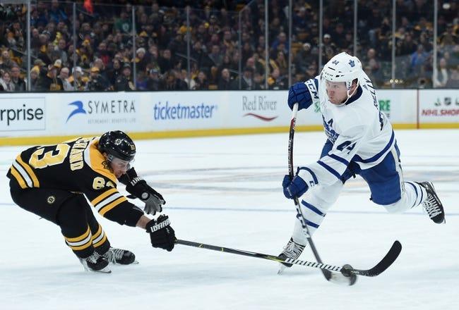 NHL   Boston Bruins at Toronto Maple Leafs