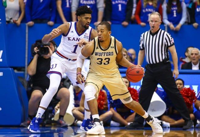 NCAA BB | Wofford at UNC Greensboro