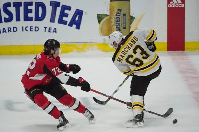 NHL | Ottawa Senators at Boston Bruins