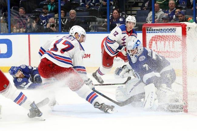 NHL | Tampa Bay Lightning at New York Rangers