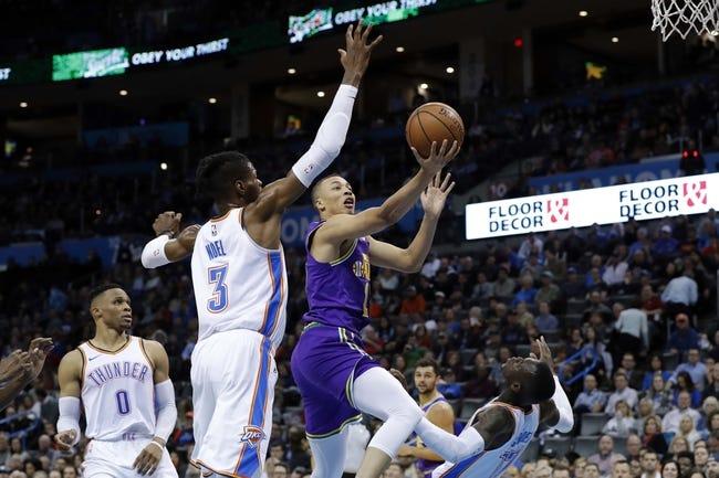 NBA   Oklahoma City Thunder (20-10) at Utah Jazz (16-17)