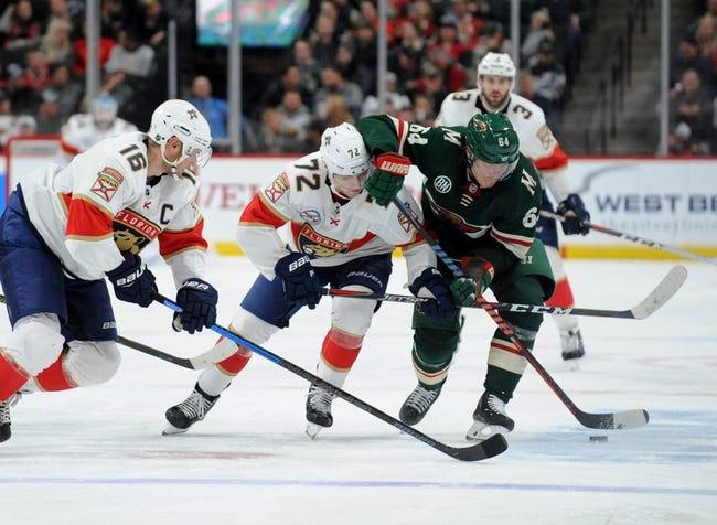 NHL | Minnesota Wild at Florida Panthers
