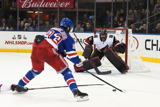 NHL   New York Rangers at Arizona Coyotes