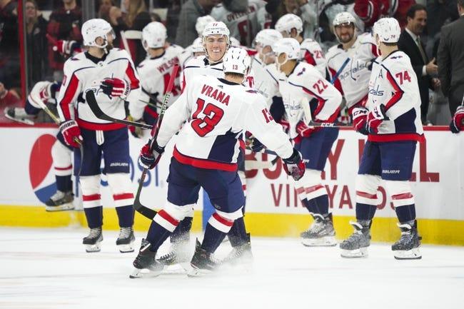 NHL   Carolina Hurricanes (15-15-5) at Washington Capitals (22-10-3)