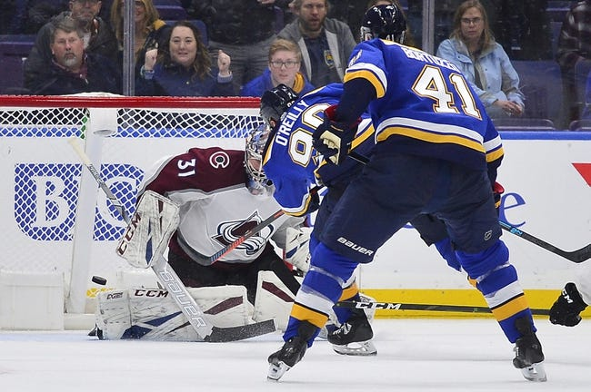NHL   St. Louis Blues at Colorado Avalanche