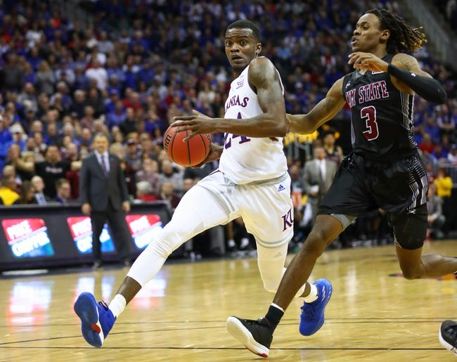 NCAA BB | South Dakota Coyotes (6-5) at Kansas Jayhawks (9-0)