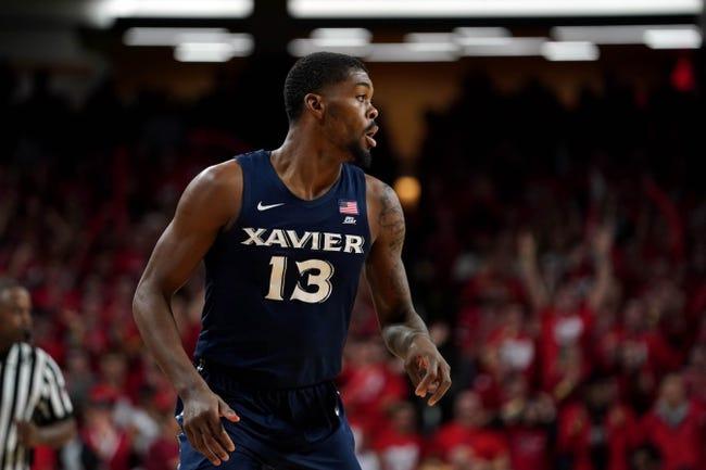 NCAA BB   Xavier Musketeers (7-4) at Missouri Tigers (6-3)