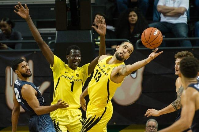 NCAA BB | Oregon Ducks (8-3) at Baylor Bears (6-4)