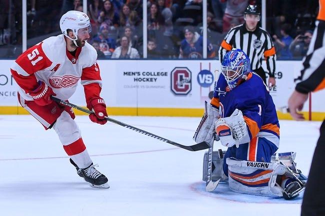 NHL | New York Islanders at Detroit Red Wings