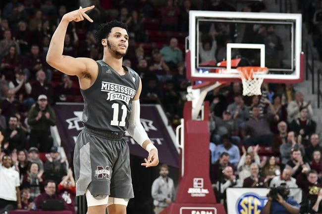 NCAA BB | Wright State Raiders (6-6) at Mississippi State Bulldogs (10-1)
