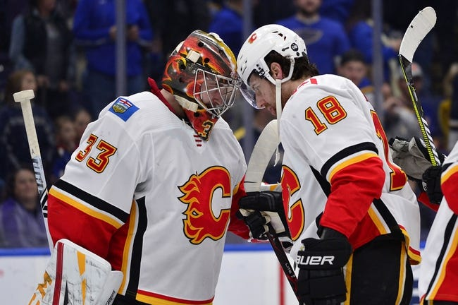 NHL | St. Louis Blues (13-16-4) at Calgary Flames (22-11-3)