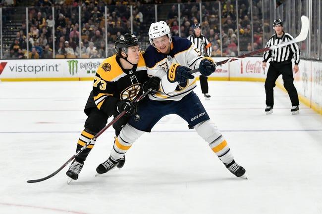 NHL | Boston Bruins (20-14-4) at Buffalo Sabres (21-12-5)